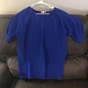 💙New Women's Small Umgee Oversized Royal Blue Top